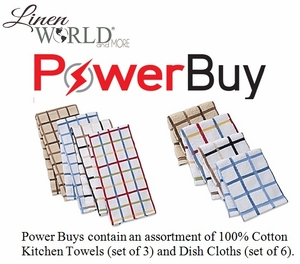 Consultant Power Buy Kitchen Towels & Dish Cloths
