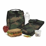 Freezable Rolltop Lunch Bag Camo