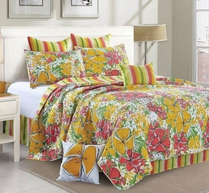 French Meadow Deluxe Quilt Set by Jacque Pierro