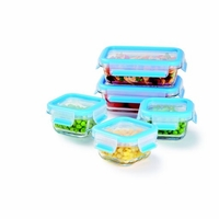 Fresh Glass Food Storage Container Set – 10 Piece