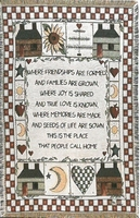 Friendship Memories Tapestry Throw