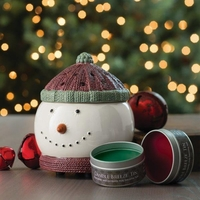 Frosty Candle Breeze Fan Fragrance Warmer