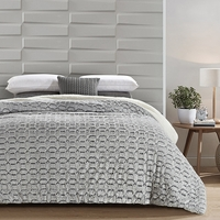 Geometric Chevron Cutwork Sherpa Blanket