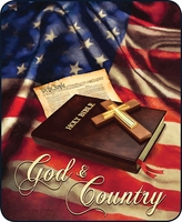 God & Country Designer Blanket