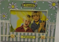 Handcrafted Picture Frame - Friends