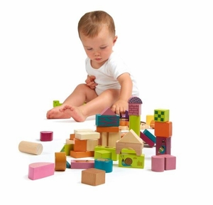 Happy Building Block Set - (50 pcs.)