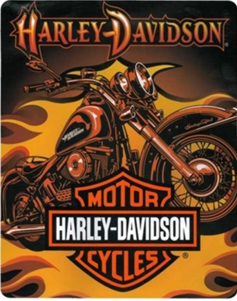 Harley Davidson Sunset Jumbo Blanket Beauteous Harley Davidson Blankets And Throws