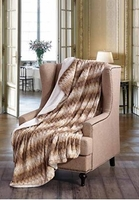 Honey Twist Sherpa Throw