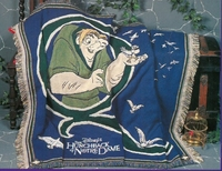 Hunchback of Notre Dame Tapestry Throw