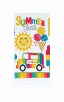 Ice Cream Treat  Kitchen Towel