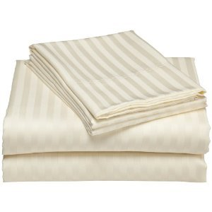 <font color=red>Ivory Imperial Sheet Set Spectacular ~ Just $10 ~</font color>