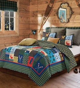 Lake & Lodge Quilt Set