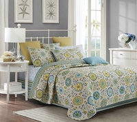 Latifa Full/Queen Quilt Set