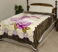 Lavender Roses Super Heavyweight Blanket