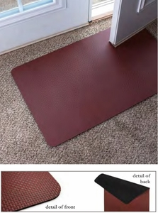 Low Profile Rug Brown
