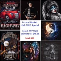 Luxury Blanket Pick Two Special