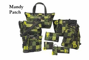 Mandy Patch Quilted Handbag Collection