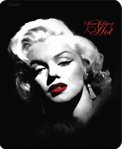 Marilyn Monroe Some Like It Hot Luxury Blanket