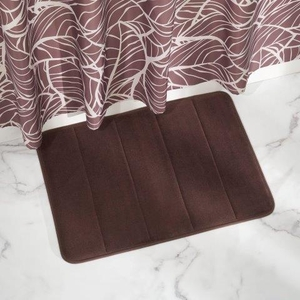 Memory Foam Bath Mat -Chocolate