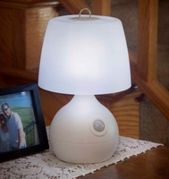Motion Sensor 8-LED Table Lamp