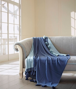 Night Fall Luxury Cotton Throw Blanket