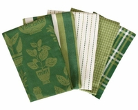 Oil & Vinegar 5 Piece Kitchen Towel Set