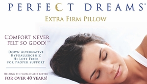 Perfect Dreams Pillow