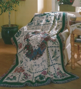 Perfect Peace Tapestry Throw