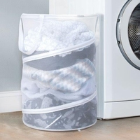 Pop Up Mesh Laundry Hamper