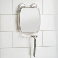 Power Lock Shower Mirror