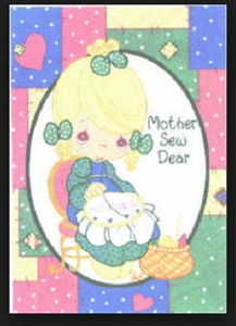Precious Moments - Mother Sew Dear