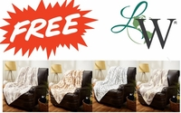 Quilted Sherpa Throws:  $19.99 FREE Gift