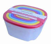 Rainbow Storage Container Set:  14 pcs