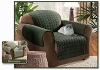 Reversible Chair Protector- Sage