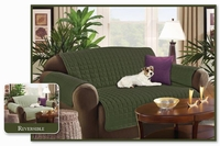 Reversible Love Seat Protector- Sage