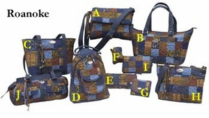 Roanoke Quilted Handbag Collection