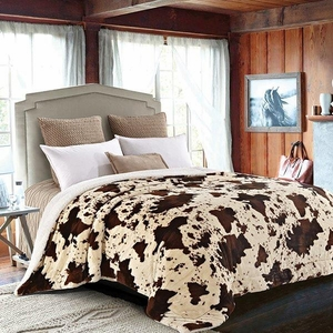 Rodeo Luxury King Size Sherpa Blanket