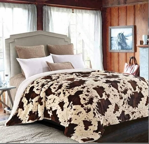 Rodeo Luxury Textured Sherpa Blanket
