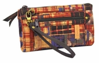 Rustic Plaid Large Wallet by Donna Sharp