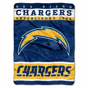 San Diego Chargers Team Blanket