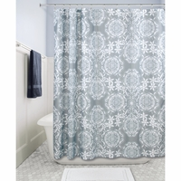 Shower Curtain - Gray Medallion