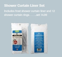 Shower Curtain Liner Set