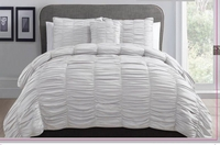 Slumber Comfort Bed Ensemble Silver