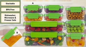 Snap Lock 4 Cup Container
