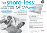 Snore-Less Pillow