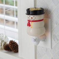 Snowman Plug In Fragrance Warmer