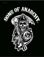 Sons of Anarchy Luxury Blanket