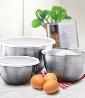 Stainless Steel Mixing Bowls- Set of 3