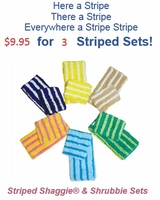 Striped Shaggie & Shrubbie Value Pack