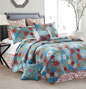 Sun Baked Deluxe Quilt Set by Sara Berrenson